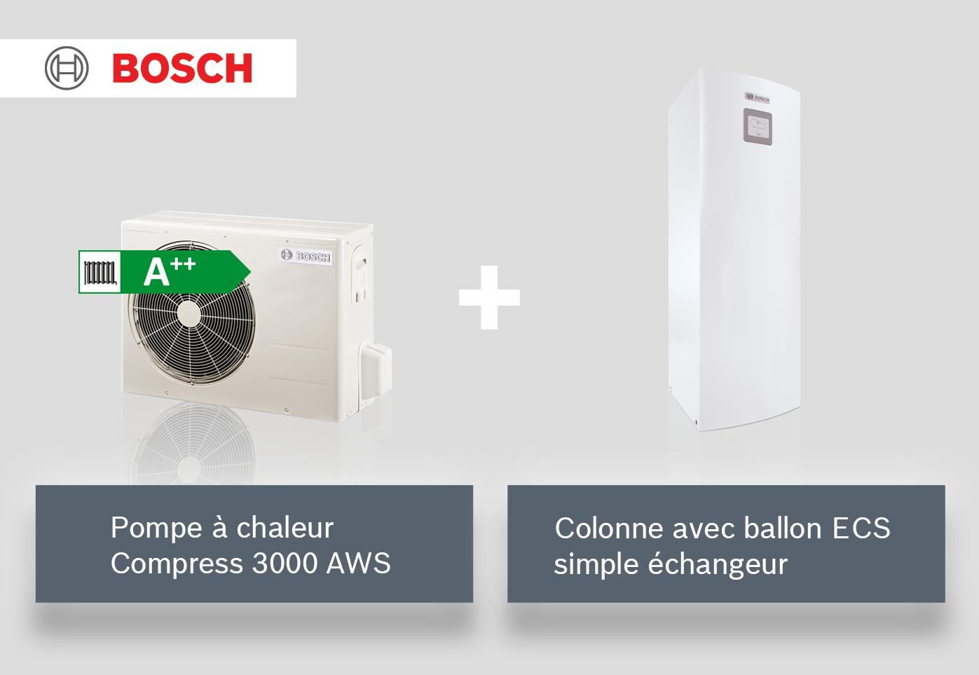 3000 AWS+ ballon ECS simple échangeur