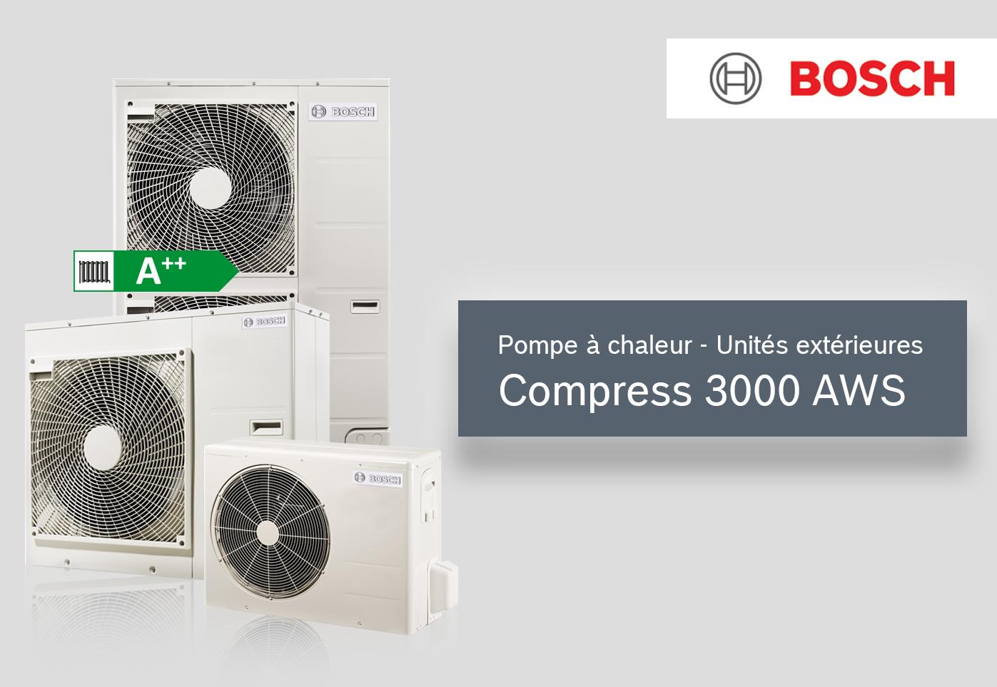 COMPRESS 3000 AWS unité extérieure