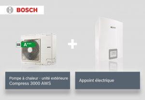 Compress 3000 AWS + Appoint électrique