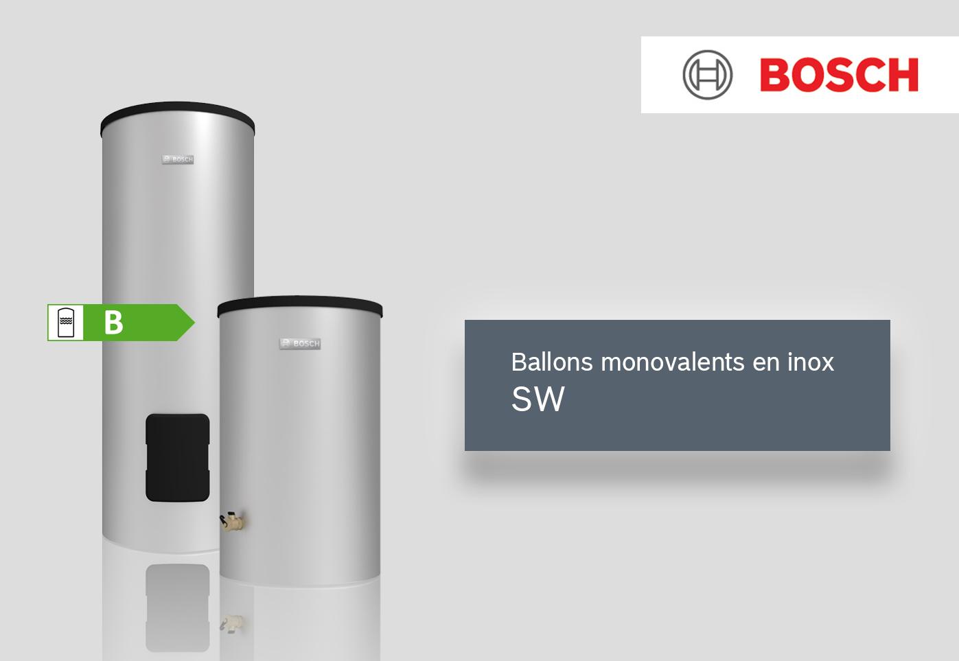 Ballons monovalents inox SW